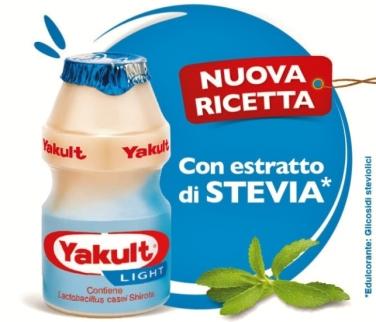 Yakult stevia